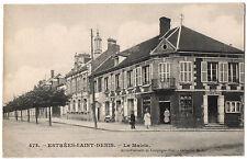 CPA 60 - ESTREES SAINT DENIS (Oise) - 473. La Mairie (petite animation) - Ed. MB