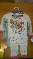 2 Sets Girls Size 2T /  Paw patrol 4 pice Pajamas PJ Set