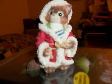 "Calico Kittens Enesco ""Jolly Old St. Nicholas"""