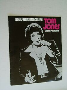 TOM JONES SHOW brochure...London Palladium....1970's