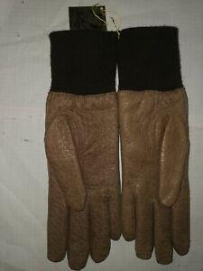Melchinger Damen Peccary Handschuhe Größe 7 Leder Luxus nr200