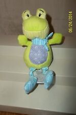 Ergee Green Frog Plush Baby Toy 7""