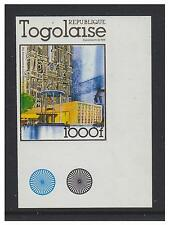 Togo - 1978, 1000f Westminster Abbey (Imperf) stamp - MNH - SG 1267a
