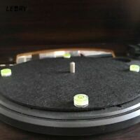 4Pcs Turntable Player Set-up Leveler For Phono Cartridge Needle Disc Spirit