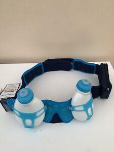 FuelBelt 2 Bottle Helium Hydration Belt Blue Size XL - New With Tags