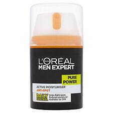 L'Oreal Men Expert Pure Power Anti-Spot Moisturising Cream 50ml 24HR Hydration