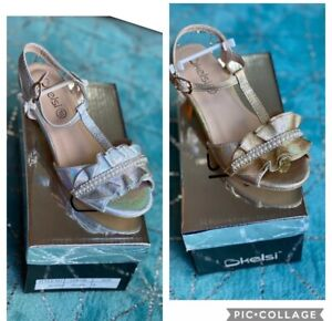 Children's Girls Heeled Shoes Sandals Heels