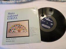 LP, Duo Hnas. Marti*, Barbarito Diez – Música Tradicional Cubana Vol. I, VG++