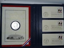 Jimmy Carter 1977 The Official Inaugural Day Medallic/Postal Commemorative Coin