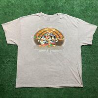 Disney Aulani Shirt Hawaii Exclusive Mickey Donald Goofy Chip Dale Size XXXL