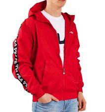 Fila Men Tacey Tape Wind Jacket Anorak Red 682359.006