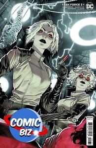 TASK FORCE Z #1 (2021) 1ST PRINTING SCARCE 1:25 MORA VARIANT COVER DC COMICS