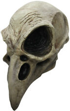 Crow Skull Adult Latex Mask, One-Size