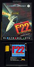F-22 INTERCEPTOR F22 - Megadrive Mega Drive - Vers. Europea PAL - BOXATO