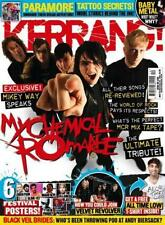 KERRANG 1509 My Chemical Romance,All Time Low,PARAMORE,ANDY BIERSACK,Blink-182
