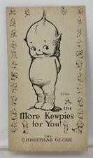 Vintage Rose O'Neill Kewpie More Kewpies For You Card 1914 The Christmas Globe