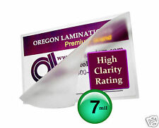 7 Mil Hot 4 x 6 Photo 4.25 x 6.25 Laminating Pouches [100] Clear