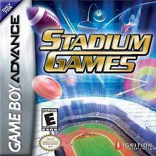Game Boy Advance Stadium Games multiplayer olympics shooting archery pole vault