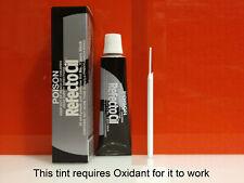 Refectocil Eyelash & Eyebrow tint - No. 1 Pure Black + mascara wands