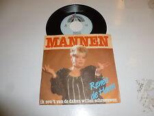 """MANNEN - Renee de haan - 1988 Dutch 2-track 7"""" Juke Box Vinyl Single"""