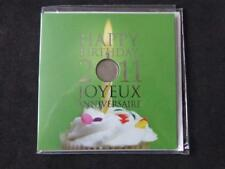 CANADA 2011 HAPPY BIRTHDAY COINS GIFT SET FROM ROYAL CANADIAN MINT