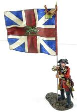 FD-101A - Cloth Flag - 54mm - British 3rd Foot - Kings Colors - AWI