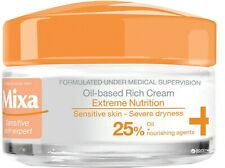 MIXA Rich Cream Nutrition Oil-Based Hypoallergenic For Sensitive Skin 50 ml