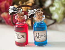 Health and Mana Potion Necklace, Potion Necklace, World of Warcraft Necklace