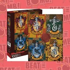 Harry Potter Crests Puzzle 1,000 Pieces  - BRAND NEW