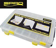 Spro Tackle Box 28x18,5x4,5cm Angelbox Köder-Box Kunstköder-Box Anglerbox Box