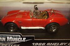 Shelby Cobra 1966 rot 1:18 Ertl neu & OVP 32760