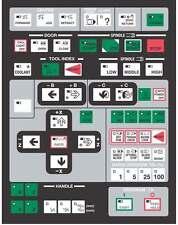 Hitachi Seiki CNC Keypad Membrane, Control Panel - HS1014