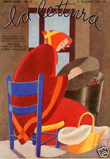 Sergio Tofano-STO-befana-CALDARROSTA-castagna-1933