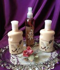 ~'~Very Rare!  Set of 3 Bath and Body Works ~Fresh Vanilla~ Lotions & Mist~'~