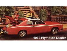1972 Plymouth Duster  Auto Refrigerator  Magnet