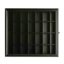 Gallery Solutions SH4422 Shot Glass Display Case - Black