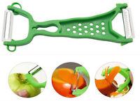 Gadgets Vegetable Fruit Peeler Parer Kitchen dual Tools Julienne Cutter Slicer u