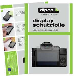 2x Screen Protector for Panasonic Lumix DC-G100 Protection Anti Glare dipos