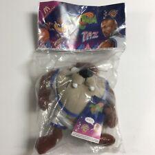 McDonalds Space Jam Warner Brothers Plush Taz Doll In Bag Michael Jordan 1996