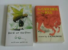The Lord of the Flies Catcher in the Rye William Golding J.D. Salinger BOOKS LOT