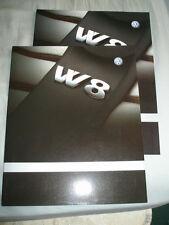 VW Passat W8 brochure Jul 2001 German text