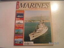 **d Marines & Forces navales n°76 Guerre Iran Irak / Le Colbert / HMS Vindictive