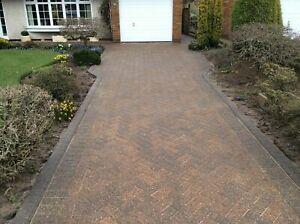 Wet look driveway sealer block paving -patio sealant 20ltrs (hard wearing)