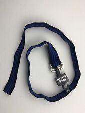 Polo Ralph Lauren Mens Nylon Belt Small Navy Blue Blue Striped NEW