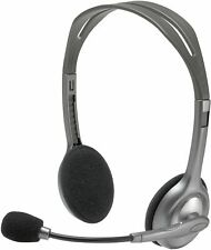 Logitech Stereo Headset H110 Silver Computer Headset Nuevo ct ES