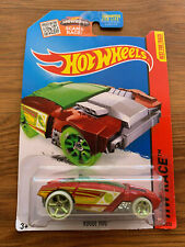 Hot Wheels ~ ROGUE HOG TREASURE HUNT RARE ~ 2015 HW Race Best For Track 173/250