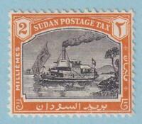 SUDAN J12 POSTAGE DUE  MINT HINGED OG * NO FAULTS VERY FINE !