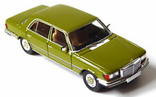 H0 Brekina STARMADA MERCEDES BENZ MB 450 Sel (w116) Verde Oliva Top Cromo # 13151