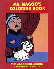 Mr. Magoo coloring book RARE UNUSED