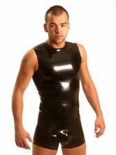 Fist Rubber Sleeveless T-Shirt Fetish Gay Sleeveless Latex-T-Shirt Fist New